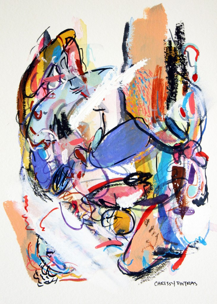 Painting, Watercolour, Watercolour, Acrylic, Paper Works, Abstract