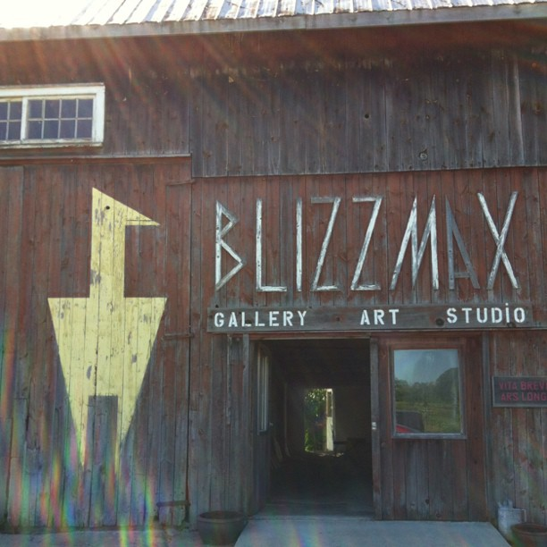 Blizzmax Gallery, Prince Edward County, Barn, Art