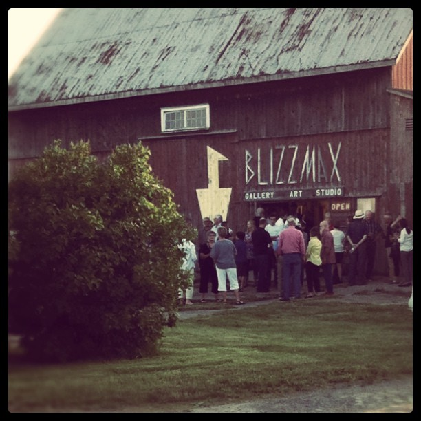 Blizzmax Gallery, Prince Edward County, Art Exhibit