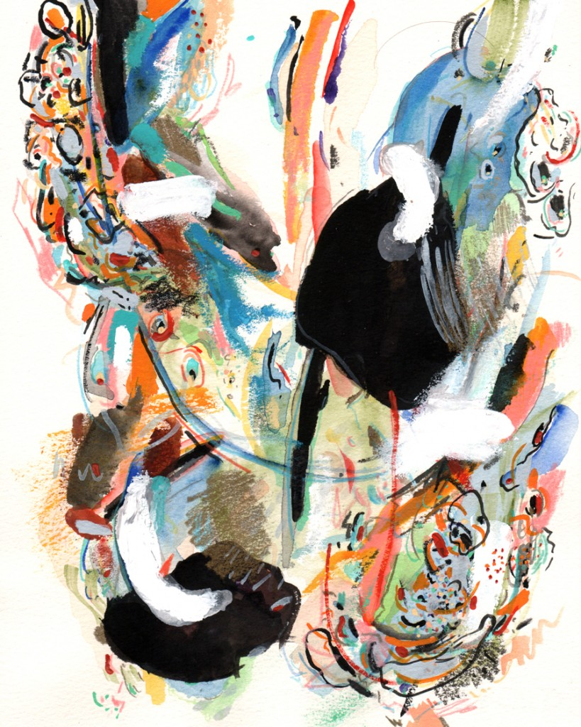 Abstract, Painting, Watercolour, Paper