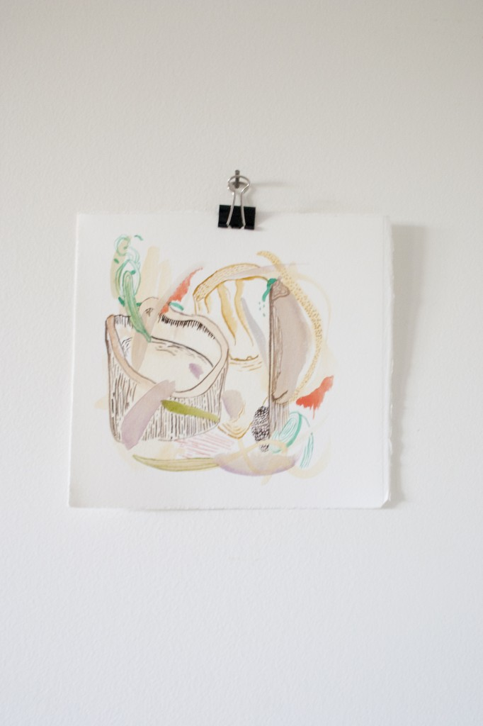 Chrissy Poitras, Abstract, Painting, Watercolor