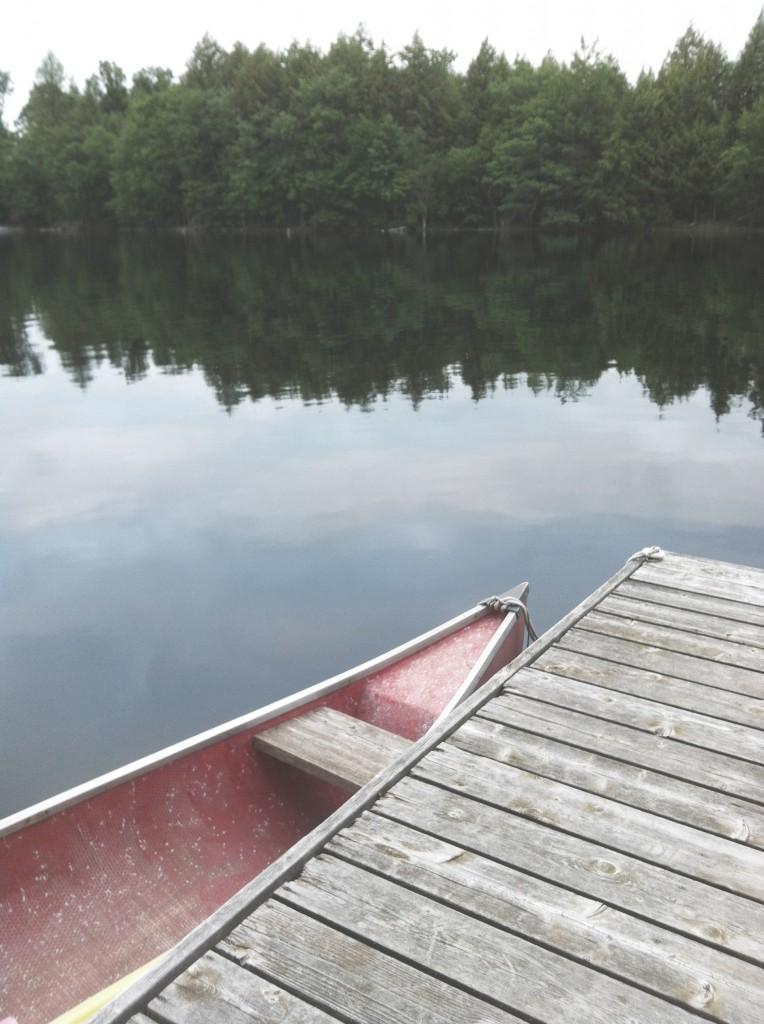Chrissy Poitras, Cabin, Ontario, June, Canoe
